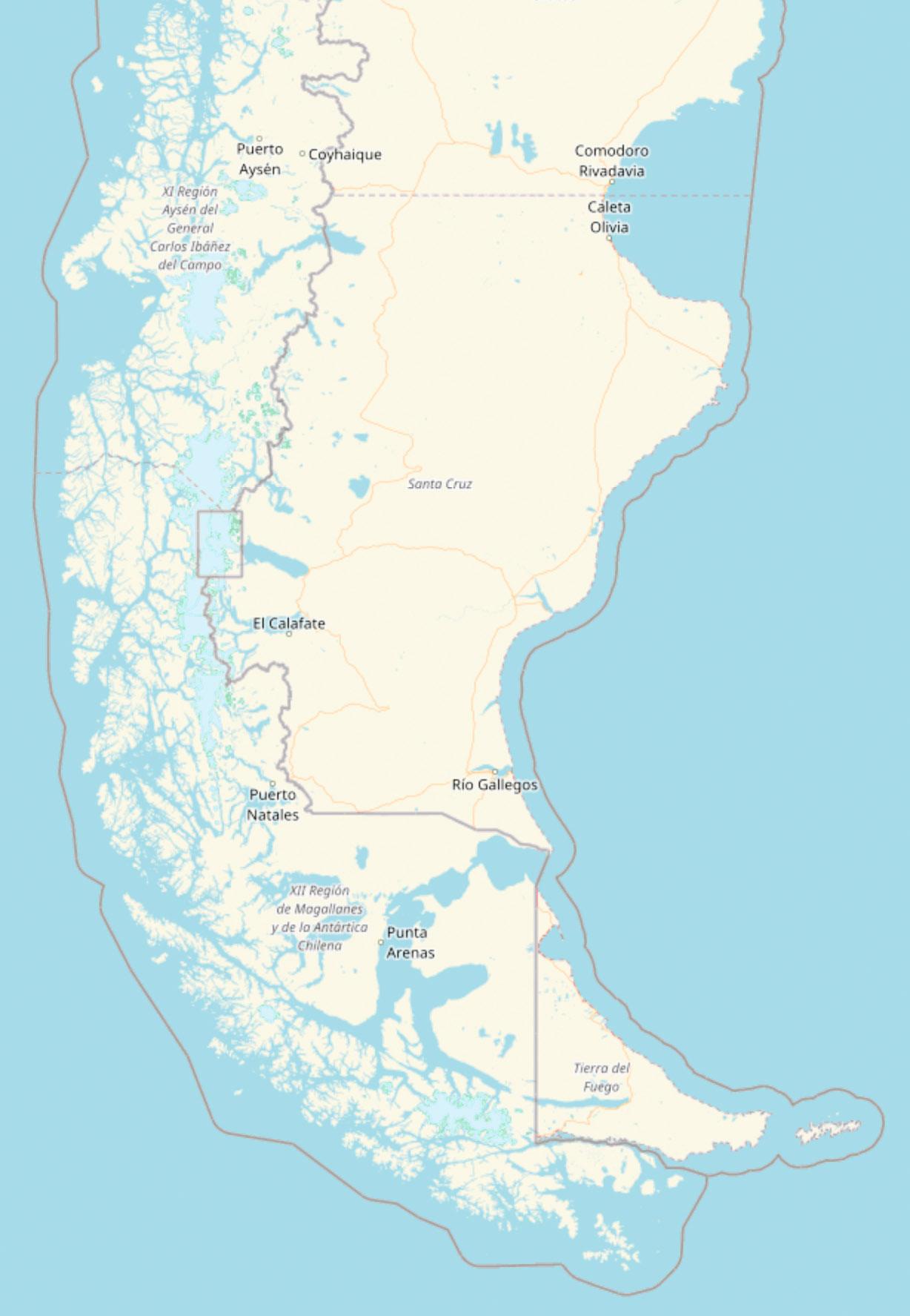 Patagonien Reisebericht – Reiseverlauf
