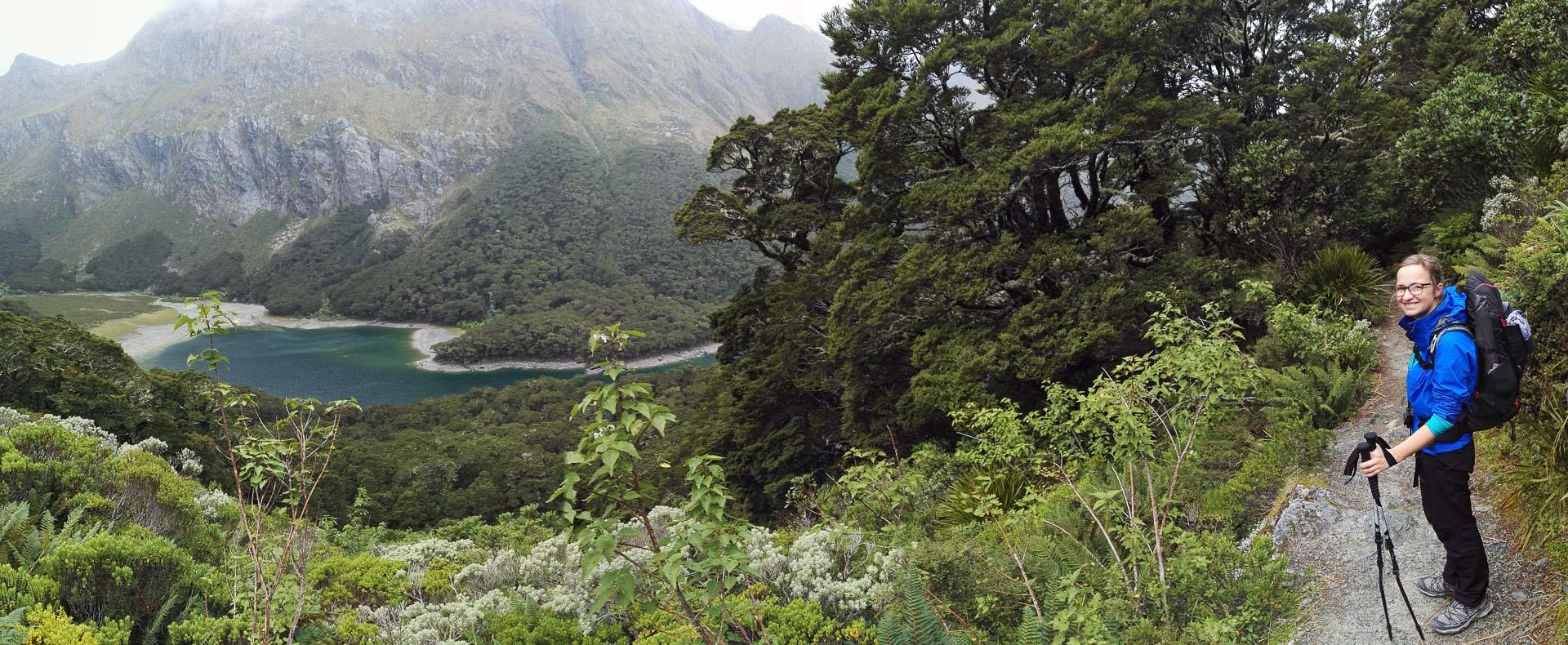 Ausblick auf Lake Mackenzie