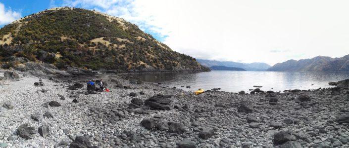 Kayaken auf dem Lake Wanaka