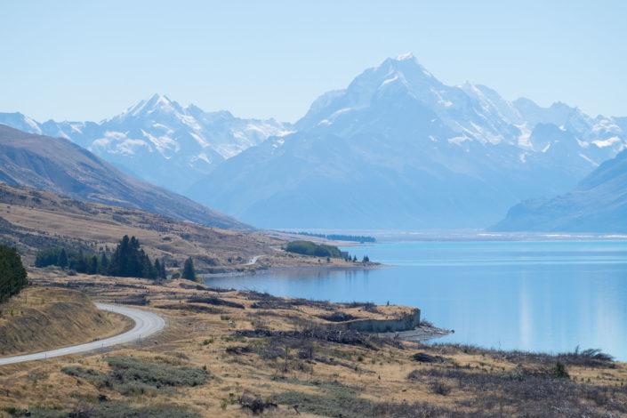 Mount Cook und Mount Cook Valley