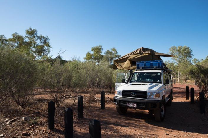 Erstes Camp am Ormiston Gorge