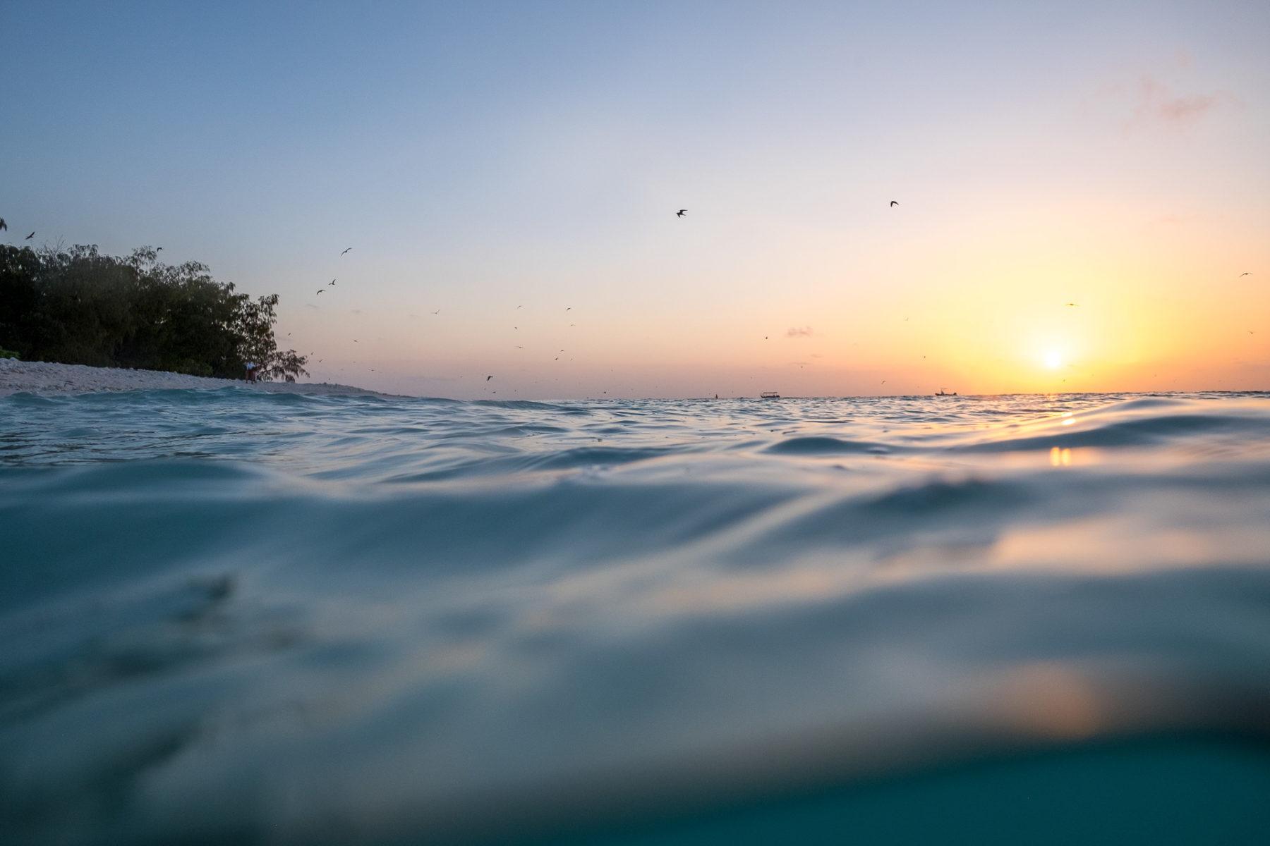 Sonnenuntergang auf Lady Elliot Island