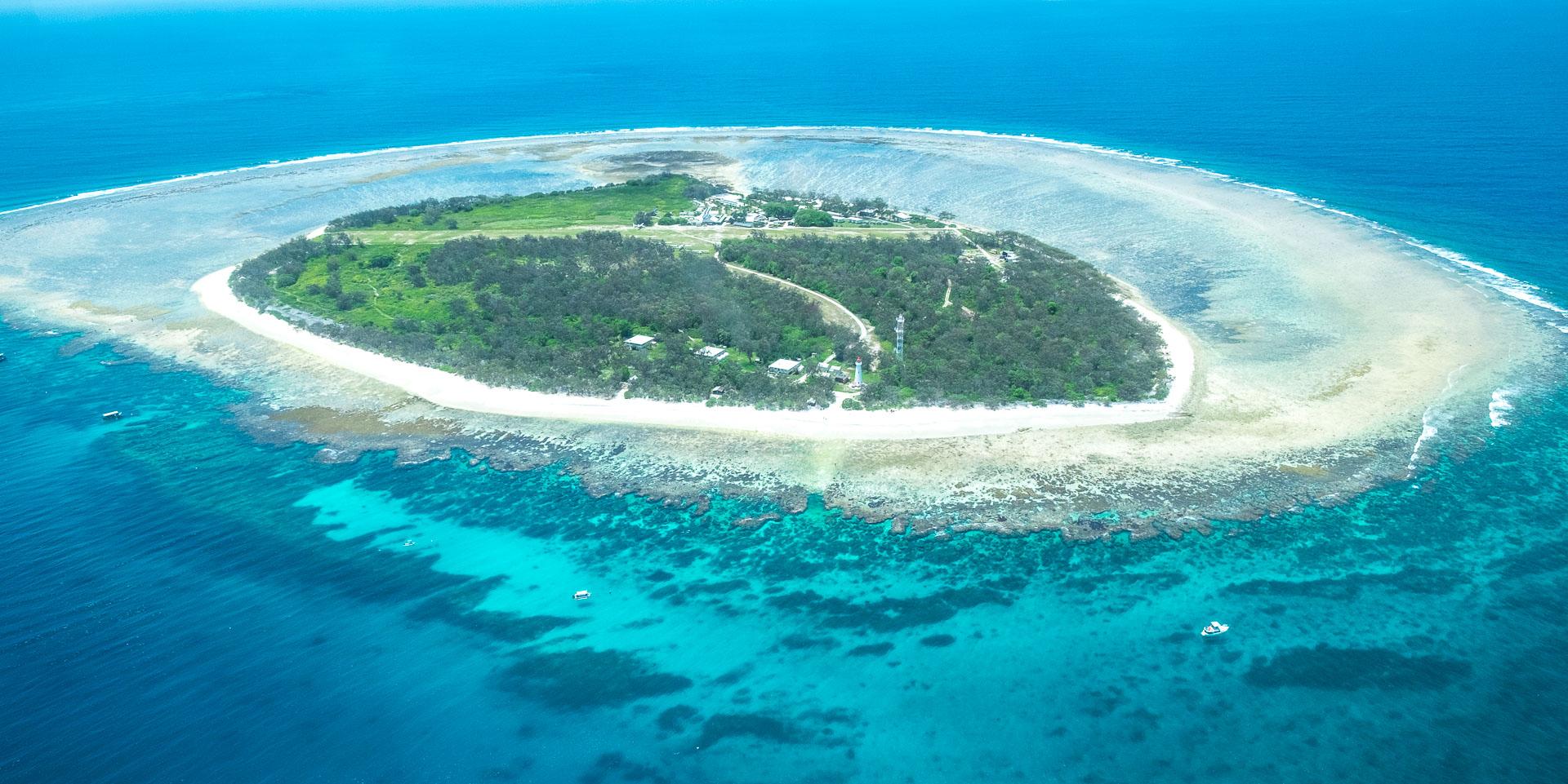 Lady Elliot Island von oben